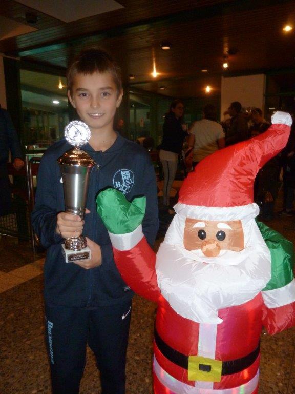 Nikita (Jahrg. 2008) - der Gewinner des Peter Höfft-Gedächtnis-Pokals.